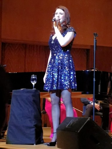 Hayley Westenra sings at City Hall Concert Hall Hong Kong © Tin