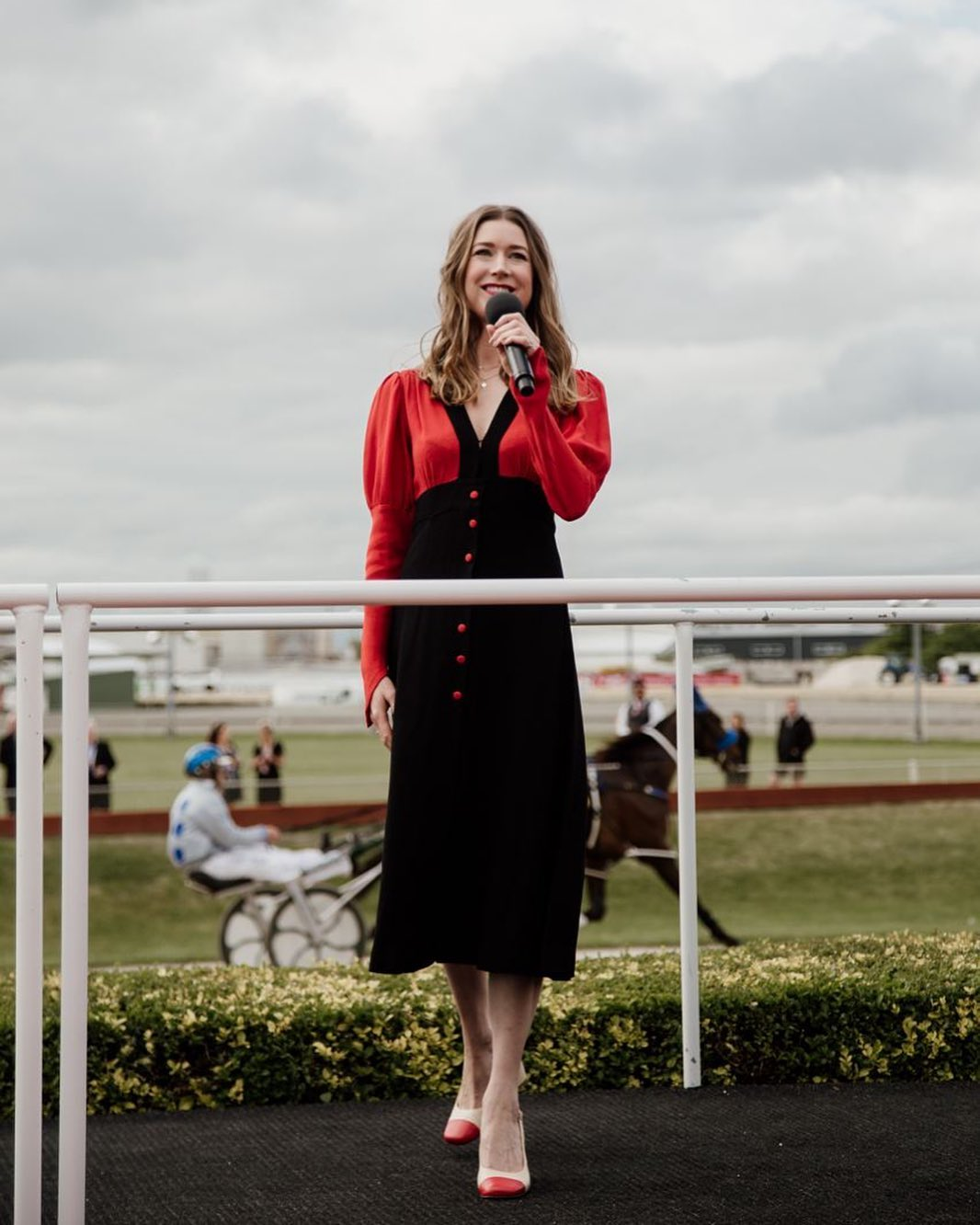 Hayley Westenra at the NZ Trotting Cup 2020
